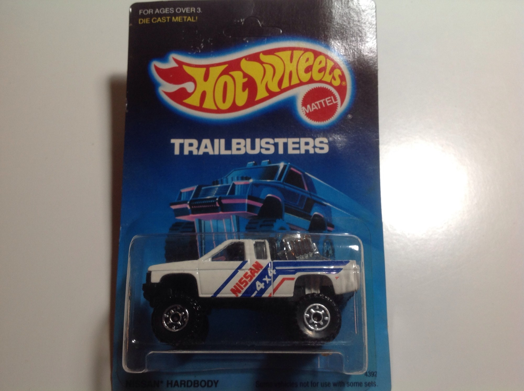 hight resolution of hot wheels trailbusters nissan hardbody cts wheels black plastic base 4392 the hobbydb marketplace