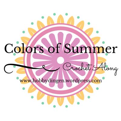Colors of Summer Crochet Along. I June 2016 -- www.hobbydingen.wordpress.com