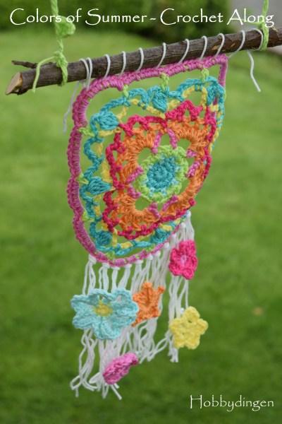 Colors of Summer CAL - Colors of Summer Crochet Along week 3 I www.hobbydingen.wordpress.com