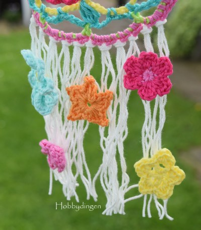 Week 3! Colors of Summer CAL - Crochet along, pattern flowers I www.hobbydingen.wordpress.com