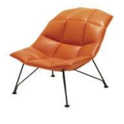 Jehs Laub Lounge Chair Eames Aluminum Group Executive Collection Pdf 6 Chairs With Polished Pedestal Bases Below In Spinneybeck Prima Vivaldi Sabrina Henna Contrasting Leather Welt