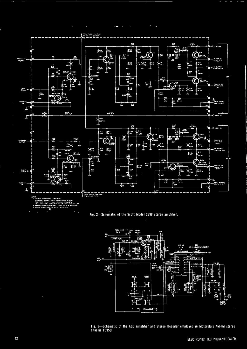 hight resolution of 2 schematic of the scott model 299f stereo amplifier fm aoc froa dd 0