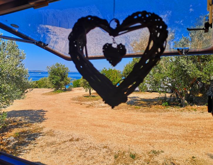 Camping mit dem Wohnwagen in Dalmatien / Kroatien