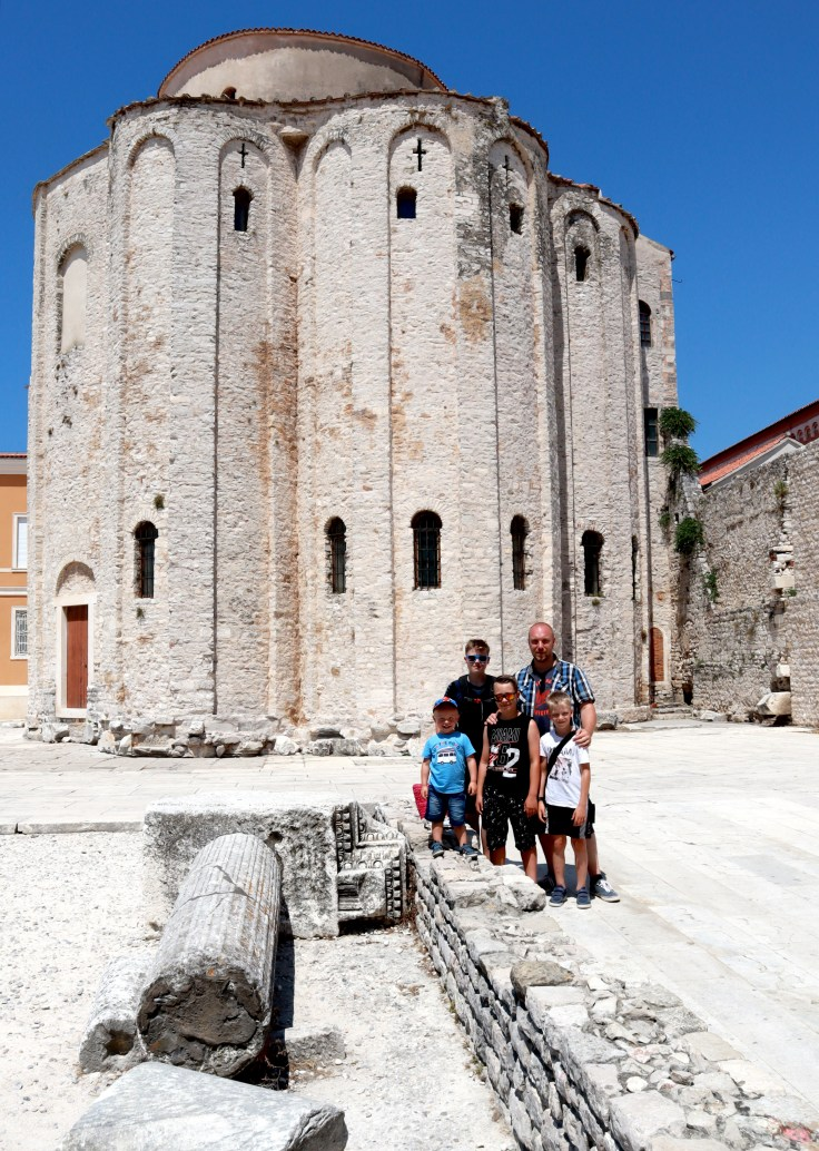 Zadar Forum und Kirche St. Donatus