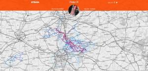 heatmap Mechelen - Leuven