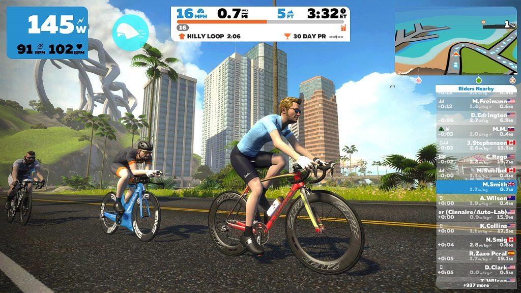 starten met Zwift indoor fietsen