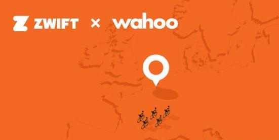 zwift Amsterdam - Antwerpen Luxemburk met de Wahoo Kickr
