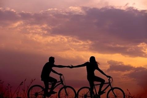 fietsen is goed voor de mentale gezondheid