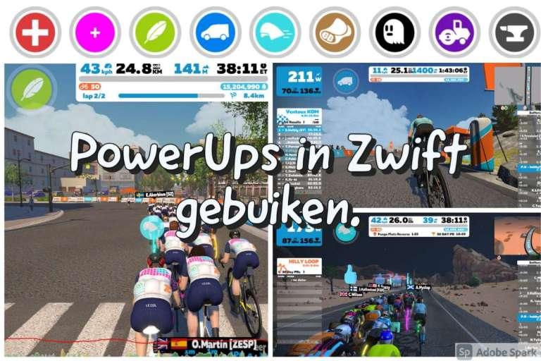 PowerUps in Zwift gebruiken