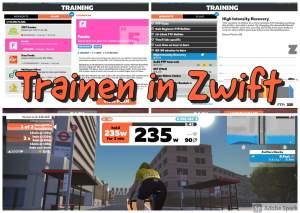 Trainen in Zwift