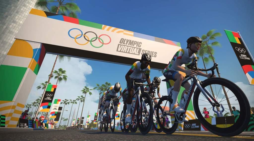 Olympic Virtual Series - neem deel aan de Olympische spelen