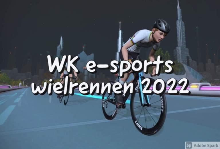 WK e-sports wielrennen 20220 in Zwift - New York
