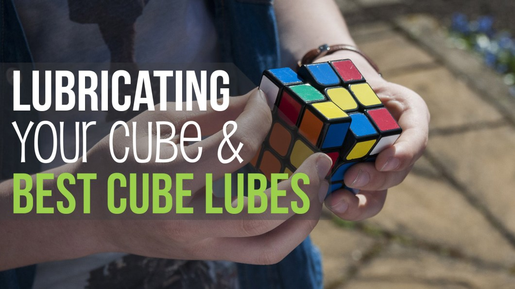 Lubricating speedcube
