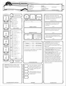 image of the starter set character sheet