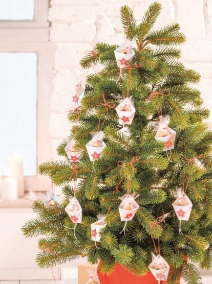 Süße Weihnachtsbaumanhänger