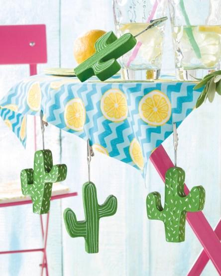 Kaktus-Tischdeckenbeschwerer