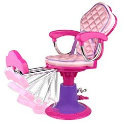 Doll Salon Chair Barcelona Replica Click N Play And Accessories Perfect For 18 Inch