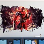 Deadpool-Smashed-3D-Wall-Decal-Mural-Art-Kids-Boy-Smash-Home-Decor-Removable-Sticker-Vinyl-Character-Movie-WW08-0