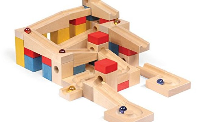 Varis Wooden Marble Run Xl European Made Early Learning