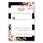 100-Wedding-Invitations-Gold-Black-Pink-Floral-Design-Envelopes-Response-Cards-Set-0-1