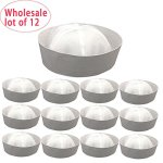 12-Pieces-In-Lot-Wholesale-12-Pcs-White-Sailor-Hats-236-60cm-Head-Circumference-for-Unisex-A-Dozen-Marine-Naut-Caps-Perfect-for-Navy-Doughboy-Gob-Theme-Birthday-Party-0