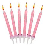 12-Pink-Glitter-Cake-Candles-Holders-0