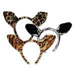 12-Plush-Animal-Print-Ears-with-Plush-Headbands-0