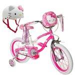 16-Hello-Kitty-Kids-Outdoor-Recreation-PinkWhite-Bike-for-Girls-with-Helmet-0