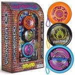3-Pack-Yomega-Urban-Graffiti-Yo-Yo-Gift-Set-with-150-Trick-Instructional-DVD-0