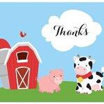 50-Cnt-Fun-Farm-Animals-Baby-Thank-You-Cards-0-1