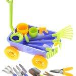 AMPERSAND-SHOPS-Kids-Garden-Wagon-Tools-Play-Set-0-0