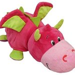 AS-SEEN-ON-TV-FlipaZoo-16-Plush-2-in-1-Pillow-Lavendar-Unicorn-Transforming-to-Pink-Dragon-The-Toy-That-Flips-For-You-0-1