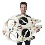 Air-Hogs-Star-Wars-Remote-Control-Millennium-Falcon-XL-Flying-Drone-24GHz-4-Channel-with-Gyro-0-2