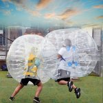 Anfan-1215M-Inflatable-Bumper-Ball-256-in-Diameter-Bubble-Soccer-Ball-Transparent-Material-Human-Knocker-Ball-Zorb-Ball-for-Adults-and-Child-0