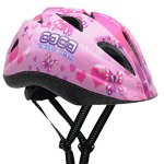 BeBeFun-Pink-Girl-Toddler-and-Kids-Multi-Sport-Bike-super-lightweight-Helmet-0-2