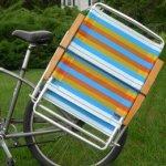 Beach-Cruiser-Bike-Caddy-Sports-Equipment-Chair-Holder-Accessory-0
