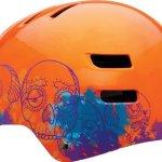 Bell-Faction-Helmet-Medium-Sugar-Skull-Orange-0-0
