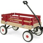 Berlin-F257-Amish-Made-Pee-Wee-Flyer-Wagon-Red-0