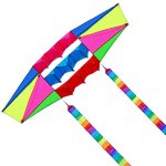 Besra-Huge-98inch-Single-Line-3D-Radar-Kite-with-Flying-Tools-25m-Power-Box-kites-with-2-tails-Outdoor-Fun-Sports-for-Adults-0