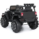 Best-Choice-Products-12V-Ride-On-Car-Truck-W-Remote-Control-3-Speeds-Spring-Suspension-LED-Light-Black-0-0