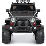 Best-Choice-Products-12V-Ride-On-Car-Truck-W-Remote-Control-3-Speeds-Spring-Suspension-LED-Light-Black-0-1