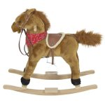 Best-Choice-Products-Rocking-Horse-Plush-Brown-with-Sound-0-1