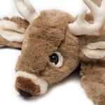Carstens-Plush-White-Tail-Deer-Animal-Rug-Large-0-0