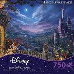 Ceaco-Thomas-Kinkade-the-Disney-Collection-Beauty-and-the-Beast-Dancing-in-the-Moonlight-Jigsaw-Puzzle-750-Piece-0-0