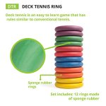Champion-Sports-Deck-Tennis-Rings-Outdoor-Party-Beach-Playground-Game-for-Adults-Kids-Families-Set-of-12-Rubber-Disks-for-Tennikoit-Games-0-2