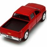 Chevy-Silverado-Pickup-Truck-Red-Jada-Toys-Just-Trucks-97017-132-scale-Diecast-Model-Toy-Car-0-0