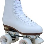 Chicago-Womens-Leather-Lined-Rink-Skate-Size-10-White-0