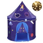Children-Play-Tent-Premium-Space-Castle-Pop-Up-Kids-Playhouse-by-Wonder-Space-Comes-with-Carrying-Case-Best-Christmas-Indoor-Outdoor-Gift-for-Boys-and-Girls-0