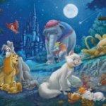 Clementoni-Disney-Sweet-Night-Panorama-Puzzle-1000-Piece-0-0