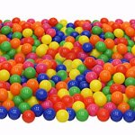 Click-N-Play-Value-Pack-of-400-Phthalate-Free-BPA-Free-Crush-Proof-Plastic-Ball-Pit-Balls-6-Bright-Colors-in-Reusable-and-Durable-Storage-Mesh-Bag-with-Zipper-0-0